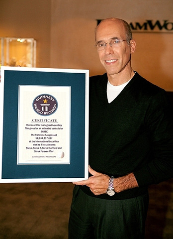 「シュレック」シリーズが、世界興収記録でギネス認定