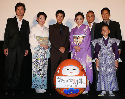 堺雅人、仲間由紀恵&松坂慶子の艶やか着物姿に「両手に花」とご満悦