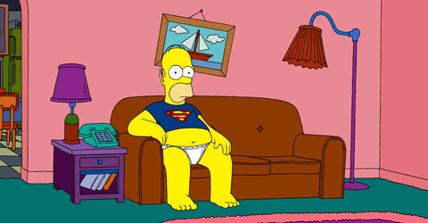 米人気アニメ「シンプソンズ」にお尻禁止令