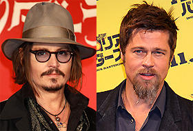 ジョニー・デップ、「ローン・レンジャー」相手役にブラッド・ピットを希望