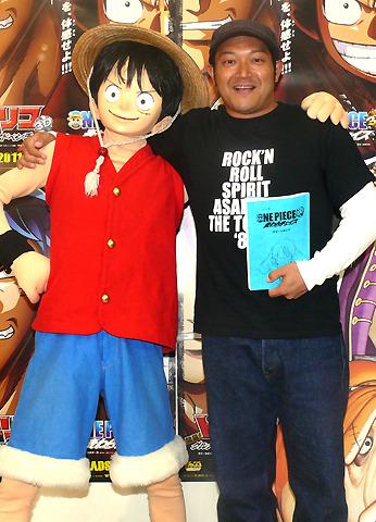 山口智充「ONE PIECE 3D」にひとり3役で声優出演