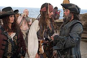 ペネロペ・クルスがナゾの女海賊に「パイレーツ・オブ・カリビアン 生命(いのち)の泉」