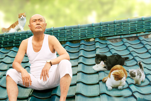 キュートなネコたちが飛び出す!癒し系3D映画完成