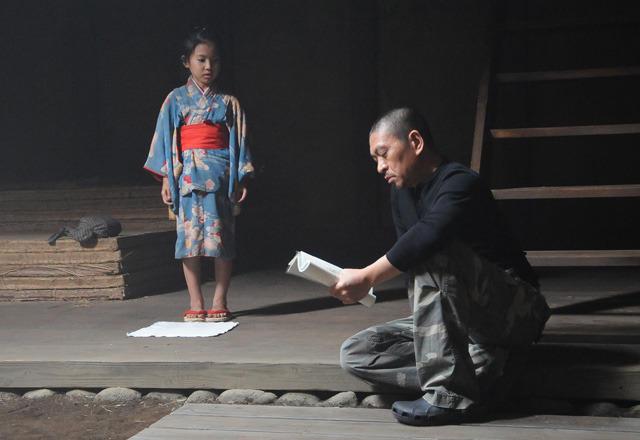 松ちゃん監督第3弾「さや侍」は時代劇 主演は素人・野見隆明
