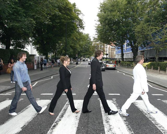 ザ・ビートルズ「アビイ・ロード」の横断歩道、イギリスの重要文化財に