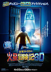 果たして無事に母親を救出できるのか?「少年マイロの火星冒険記 3D」