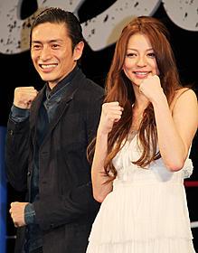力石徹になりきった伊勢谷友介と白木葉子役の香里奈「あしたのジョー」