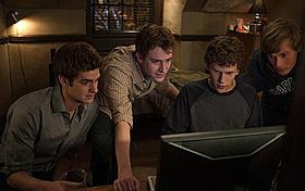 Facebook誕生秘話を描いた「ソーシャル・ネットワーク」は アカデミー賞大本命「ソーシャル・ネットワーク」