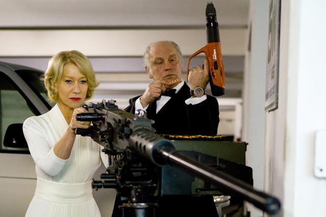 オスカー女優ヘレン・ミレン、最新作「RED」で意外な役づくり