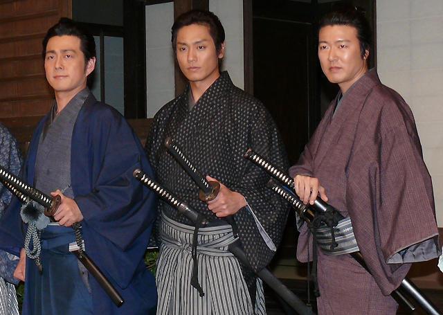 土方歳三役の永井大、タクシー運転手から太鼓判