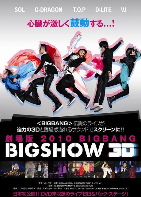 「BIGBANG」伝説のライブ、3Dで劇場公開決定