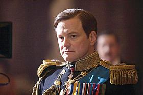 コリン・ファースがオスカー初受賞「英国王のスピーチ」