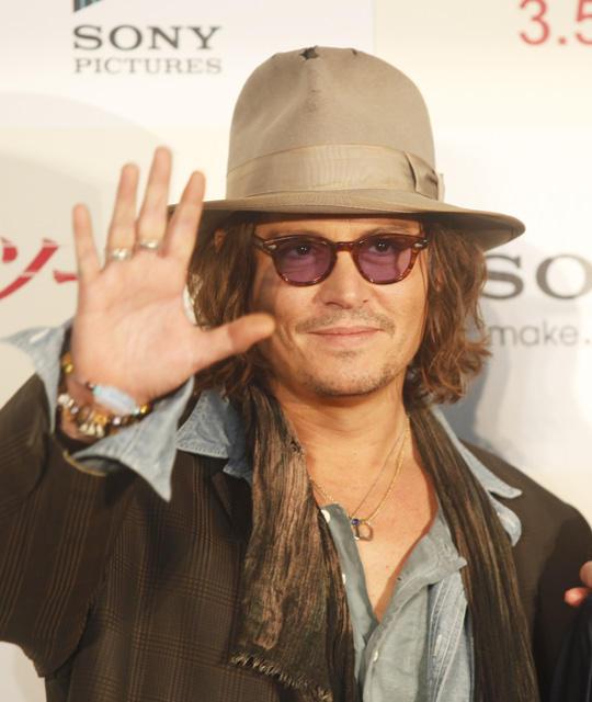 ジョニー・デップ8度目の来日「キディランド大好き!」
