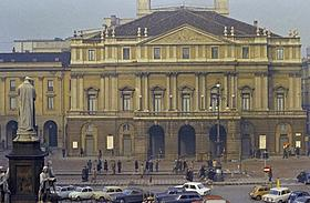 ミラノのオペラ劇場 スカラ座「魔笛」