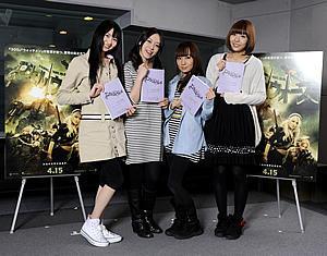 人気声優ユニット「スフィア」が米映画の日本語吹き替え
