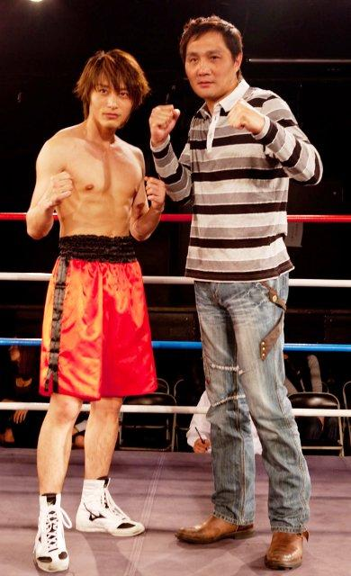 徳山秀典「タナトス」映画化で主演、プロボクサー顔負けの肉体に