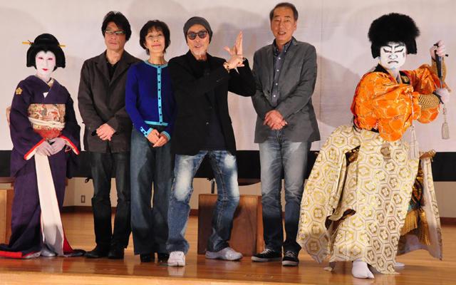 原田芳雄、阪本順治監督ら大鹿村へ言い尽くせぬ感謝伝える
