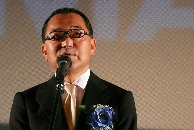 オープンの喜びを語るユナイテッド・シネマの宮田昌紀代表取締役社長