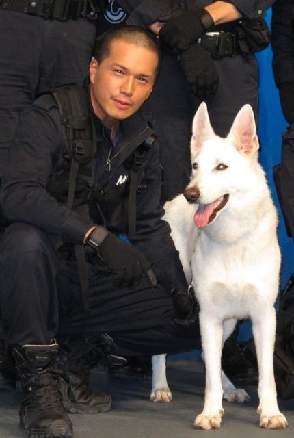 市原隼人「犬は表現者の原点」 共演した警備犬ときずな再確認