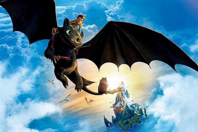 「ヒックとドラゴン」は3部作に 監督が明言