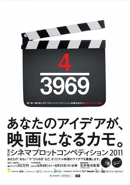 「4/3969」は、第1回から第5回までの 応募総数3969件に対する映画化本数4本の意味