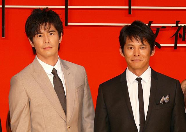 織田裕二、14年ぶり共演の伊藤英明は「たくましくなった」