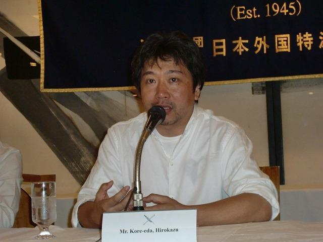「奇跡」外国人記者向けティーチインで是枝監督に質問殺到