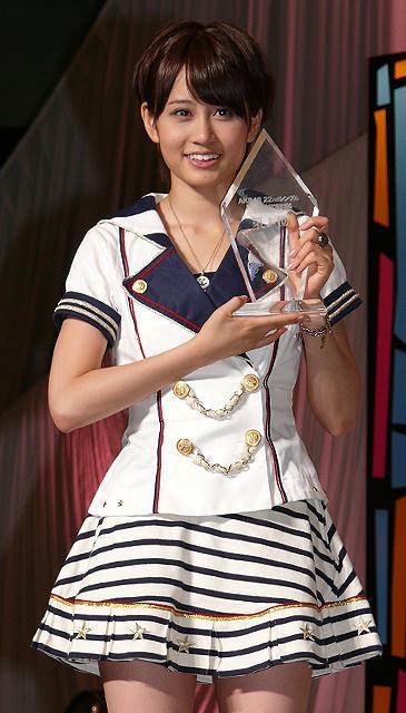 前田敦子が雪辱果たし第1位、「AKBのこと嫌いにならないで」