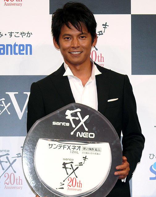 織田裕二20年ぶり「キターッ!」サンテFXの新CMキャラクターに