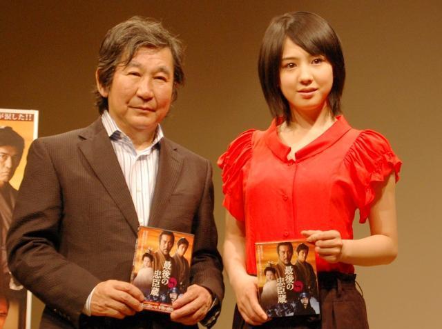 """桜庭ななみ、""""父""""杉田監督に「宝石のような女優に近づきたい」と宣言"""