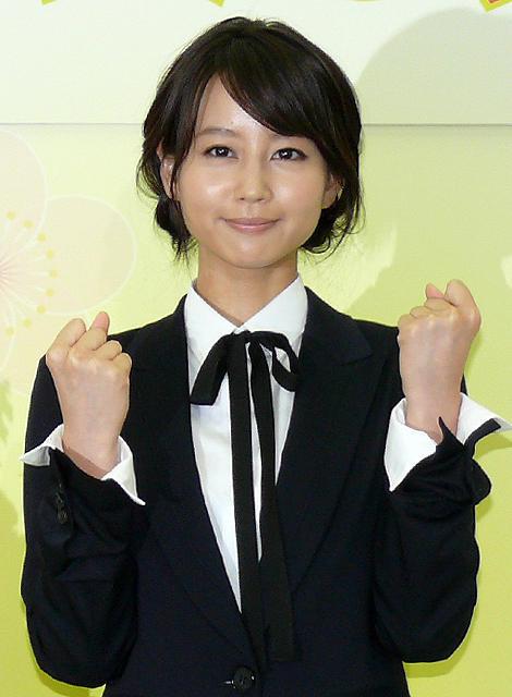 堀北真希、2012前期NHK朝ドラ「梅ちゃん先生」ヒロインに