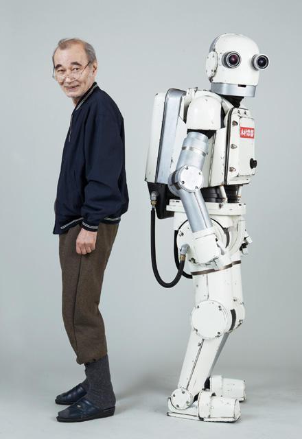 矢口史靖監督最新作「ロボジー」主演は73歳・五十嵐信次郎