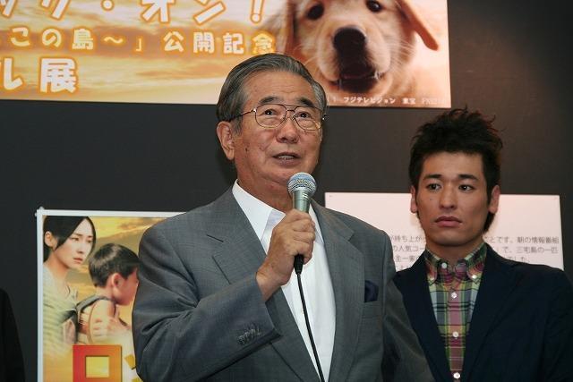 佐藤隆太、石原都知事の飛び入り参加に動揺