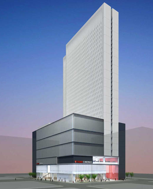 コマ劇跡・歌舞伎町に都内最大級シネコン「TOHOシネマズ新宿」15年オープン