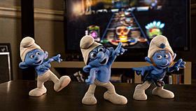 小さな青い妖精スマーフが大活躍「スマーフ」