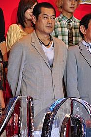 「オーズ」でサンバを披露した松平健「劇場版 仮面ライダーオーズ WONDERFUL 将軍と21のコアメダル」