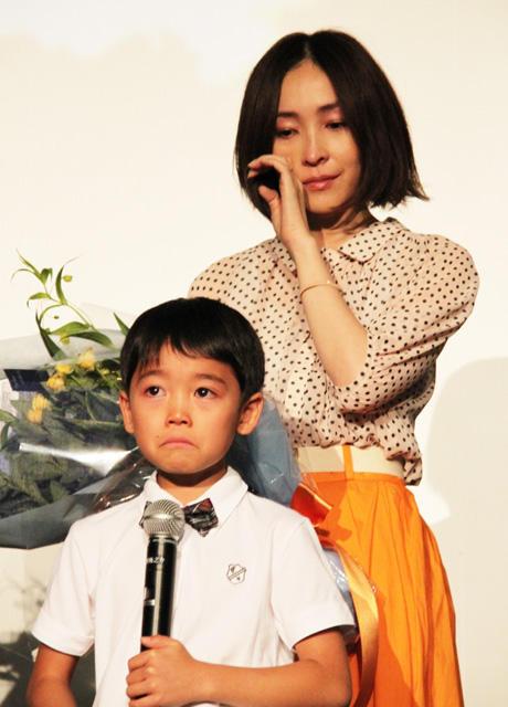 麻生久美子、子役の手紙に感涙「もうダメ…」
