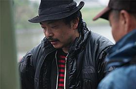 「ヒミズ」撮影中の園子温監督「ヒミズ」