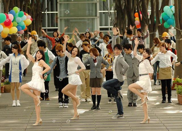 Perfume「モテキ」で銀幕デビュー! 森山未來とダンス