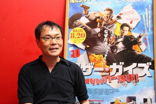 いとうせいこう、コメディ映画不遇の日本に問題提起