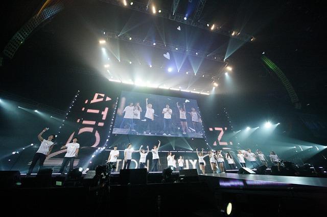 2PMと2AMが合体「One Day」、パフォーマンス日本初披露!