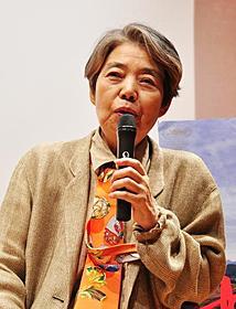 河瀬直美監督らとのトークイベントに出席した樹木希林「朱花(はねづ)の月」