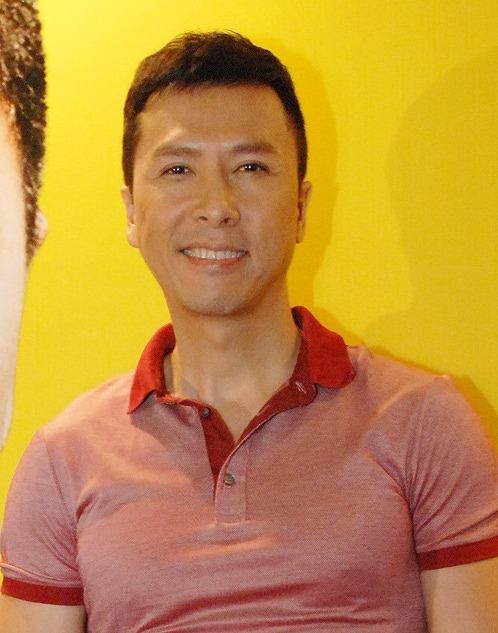 香港のアクションスター、ドニー・イェン