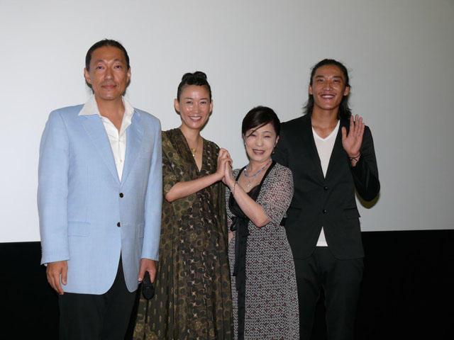 「朱花の月」主演の大島葉子、過酷な撮影で「点滴5回」