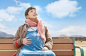 肝っ玉妊婦が釜山へ!「ハラがコレなんで」