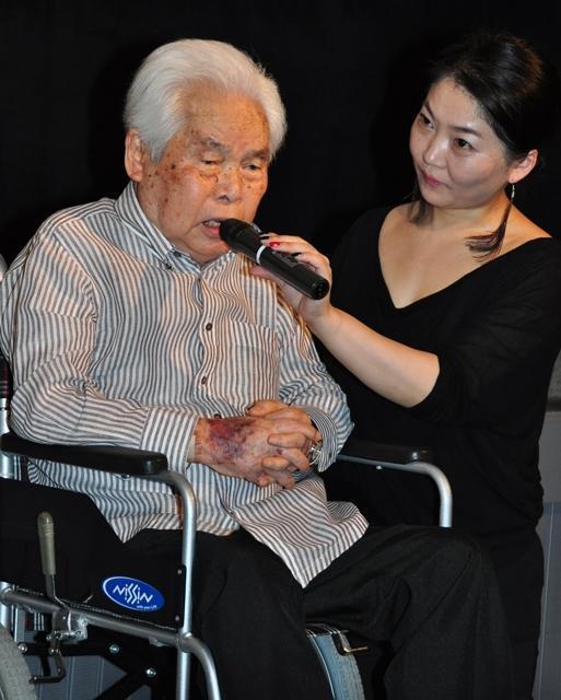 99歳・新藤兼人監督、米アカデミー賞に手ごたえあり!