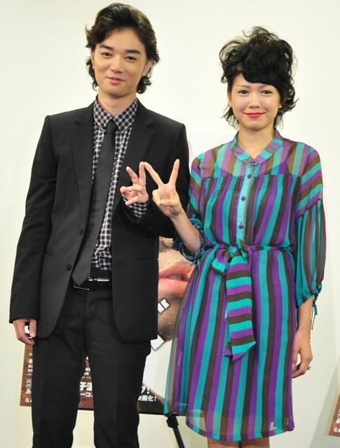 染谷将太&二階堂ふみ、ベネチア新人賞は「日本の若者に向けた賞」