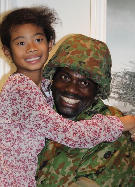 ボビー・オロゴン、9歳の娘相手にタジタジ
