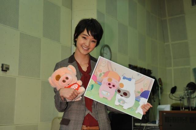 剛力彩芽、香港アニメで声優初挑戦 メインキャラはオスカー所属が決定