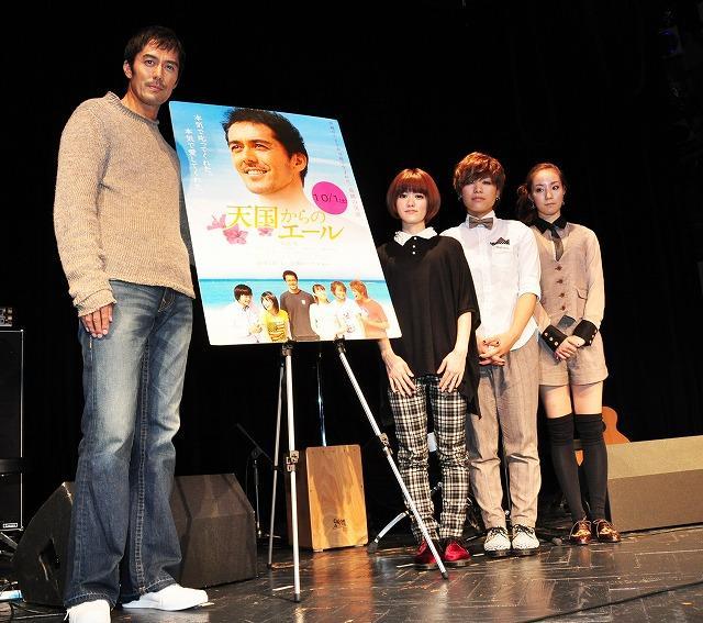 阿部寛、人生初のライブ体験で「心の中に届いた」